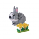 Nanoblock - Rabbit (Level 2)(NBC179)